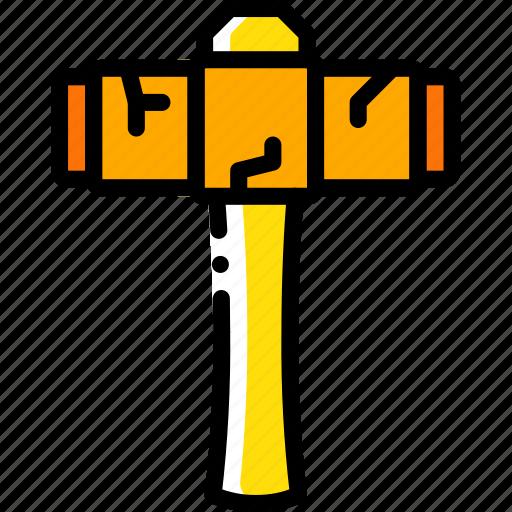 element, game, hammer, sledge icon