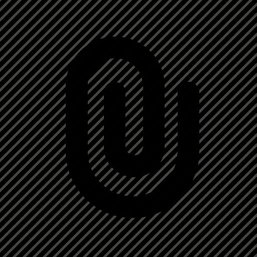 attach, attachment, clip icon
