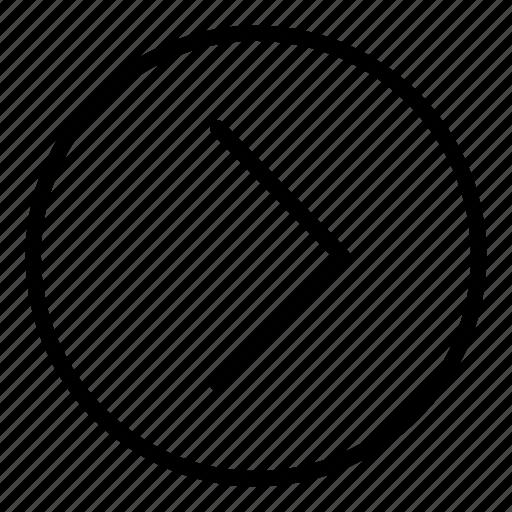arrow, forward, game interface, mobile, next, next button, right icon