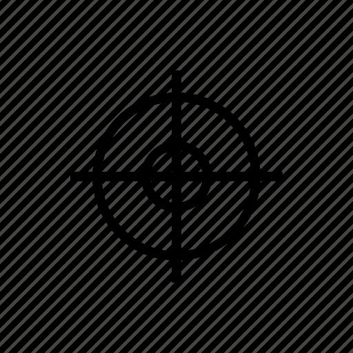 Focus, game, gun, shoot, target icon - Download on Iconfinder