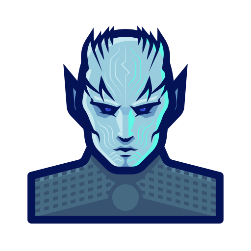 game, king, north, thrones, walker, winter icon