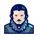 avatar, character, game, jon, series, snow, thrones icon