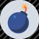 attack, bomb, explosive icon