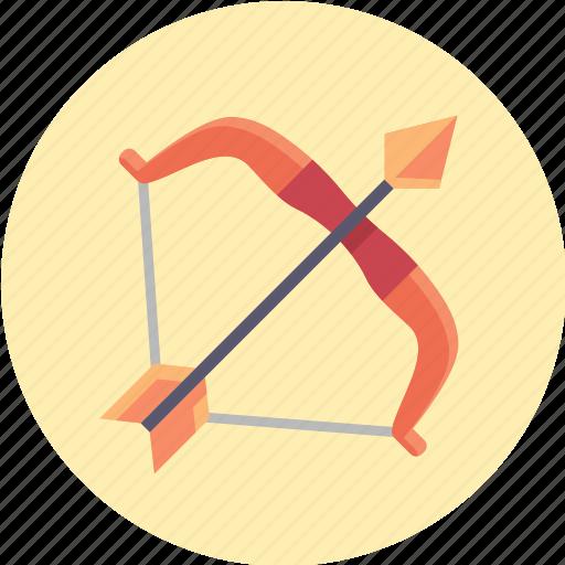 arrow, bow, war, weapon icon