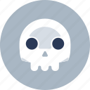 death, die, skull icon