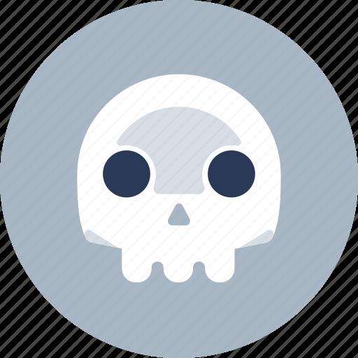 Death, die, skull icon - Download on Iconfinder