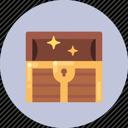 chest, shop, treasure icon