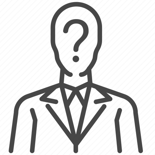 enigma, game, man, puzzle, question, riddle, show icon