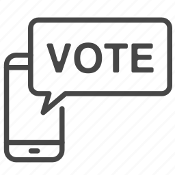 game, mobile, poll, show, telephone, vote, voting icon