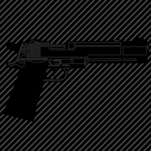 army, desert, eagle, gun, weapon icon