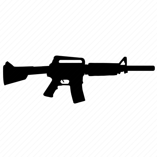 american, game, gun, m16, riffle, weapon icon
