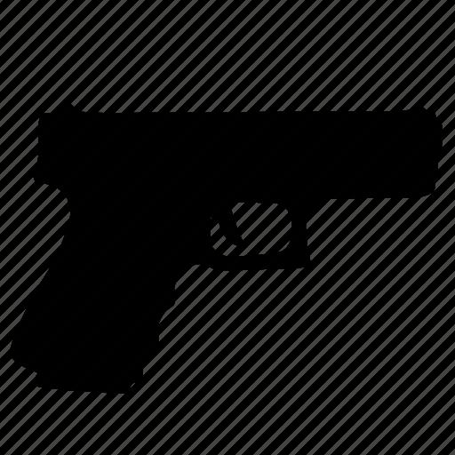 game, glock, gun, police, weapon icon