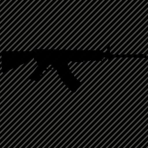ak47, gun, military, weapon icon