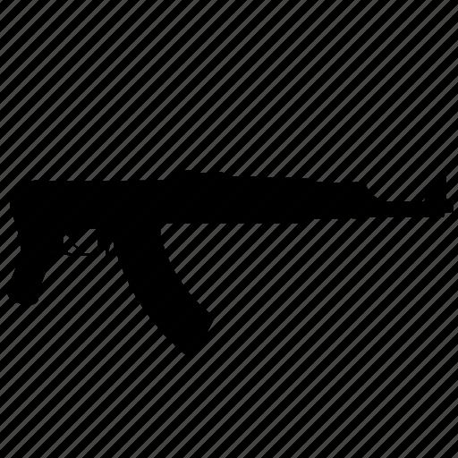 ak47, automatic, gun, military, weapon icon