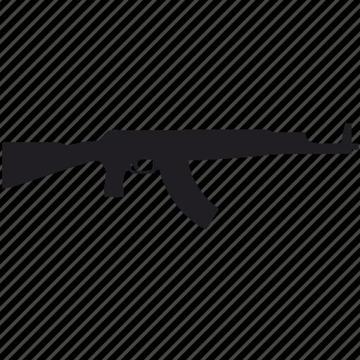 ak47, army, gun, weapon icon