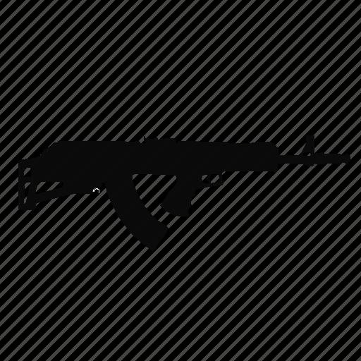 ak47, gun, modern, weapon icon