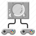 console, controller, game, gaming, joystick icon