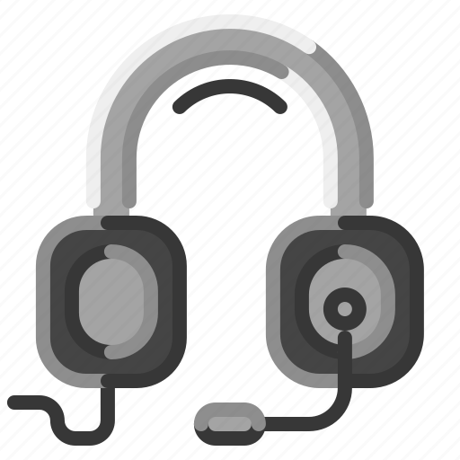 Customer, headset, microphone, operator, support icon - Download on Iconfinder