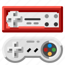 console, controller, game, joypad, joystick icon