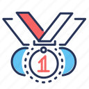 best, competition, medals, winner icon