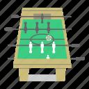 foosball, football, fun, games, kicker, soccer, table icon