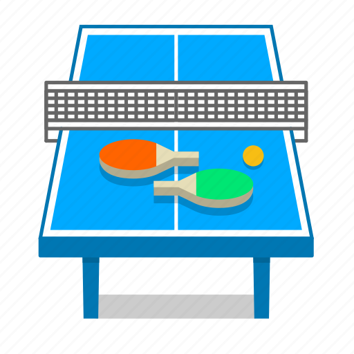fun, games, paddle, ping pong, racket, table, table tennis icon