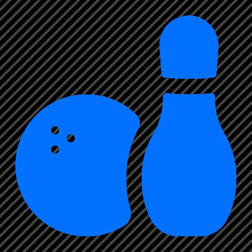 ball, bowling, game, pin icon