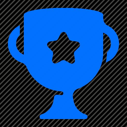 one, star, trophy, winner icon