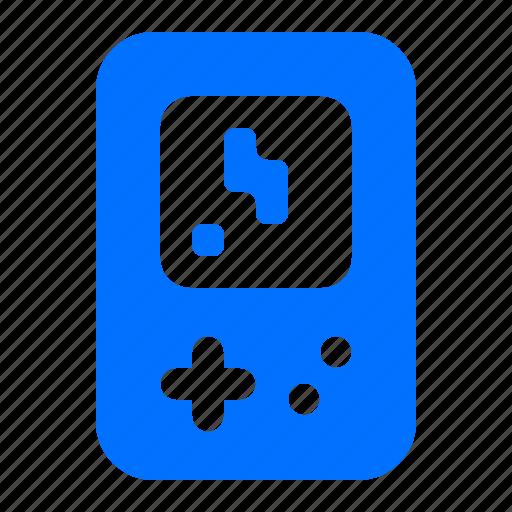 game, handheld, retro icon