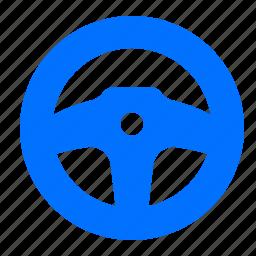 drive, sport, steering, wheel icon