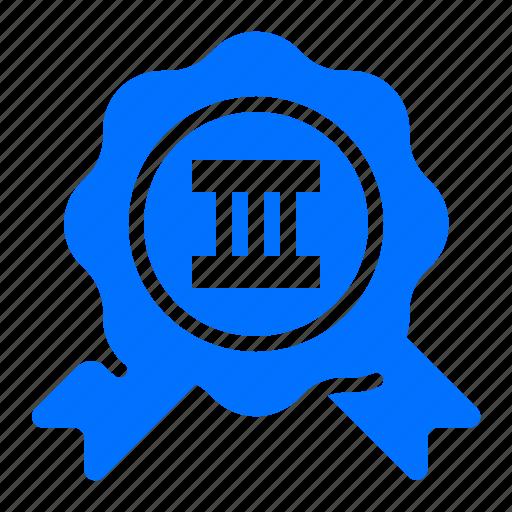 badge, place, third, winner icon