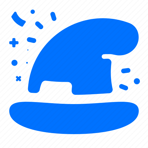 clothing, gaming, hat, wizard icon