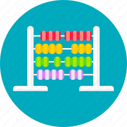 calculation, calculator, children, education, knowledge, learning, study icon