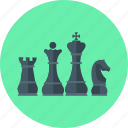 chess, game, king, piece, queen, royal, strategy icon