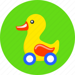 baby, bird, cute, duck, plaything, toy, toys icon
