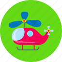 aviation, game, helicopter, toy, toy helicopter icon
