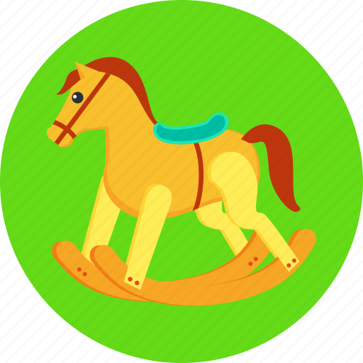 animal, animals, baby, horse, pony, riding, toy icon