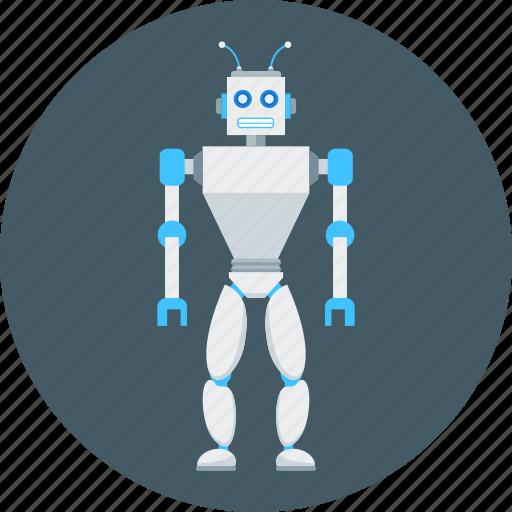 automatic, automaton, game, robot, robotics, technology, toy icon
