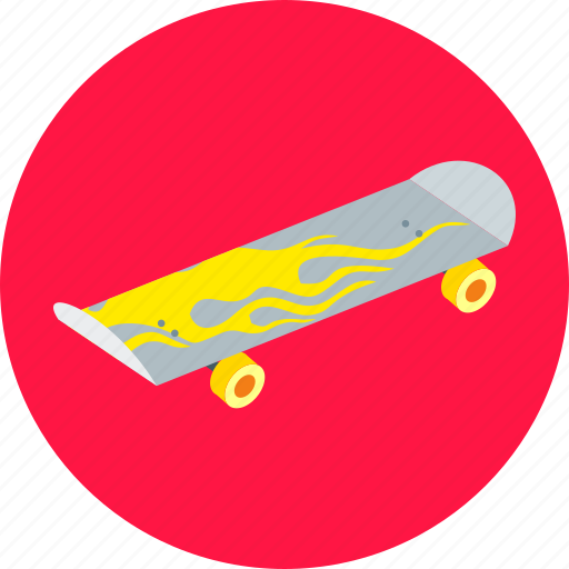 board, extreme, game, skate, skateboard, sport, toy icon