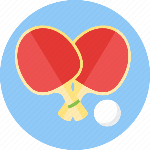 game, palettes, pingpong, play, sports, table, tennis icon