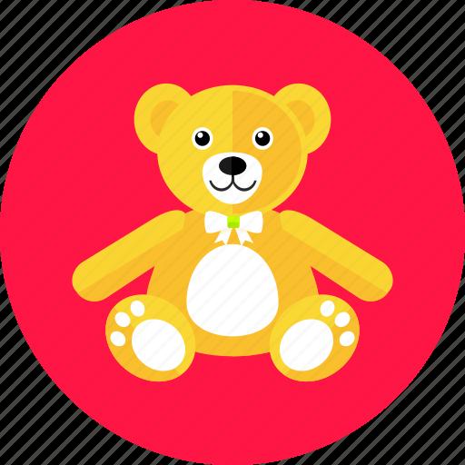 bear, cute, gift, kids, teddy, toy icon