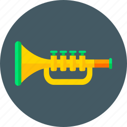 game, loud, multimedia, music, player, toy, trumpet icon