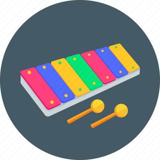 games, instrument, music, player, sound, toy, xylophone icon