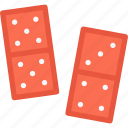 domino, game, gamer, games, lottery, video icon