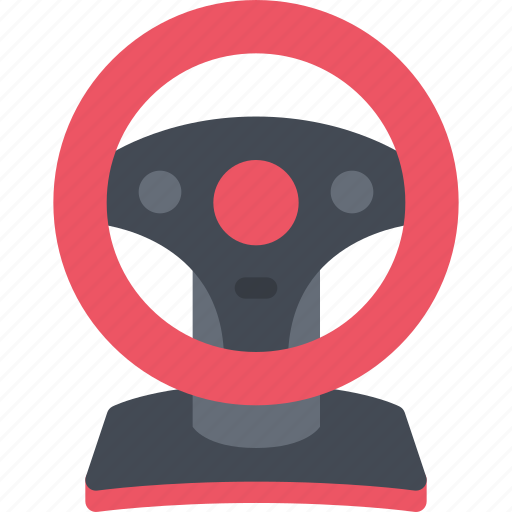 game, gamer, games, steering, video, wheel icon