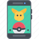 game, gamer, games, go, lottery, pokemon, video icon