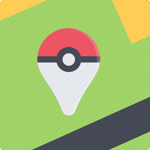 game, gamer, games, location, lottery, pokemon, video icon