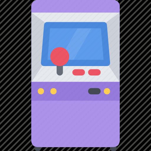 game, gamer, games, machine, video icon