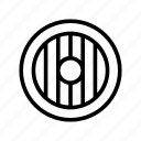 deffense, game, games, item, outline, play, shield icon