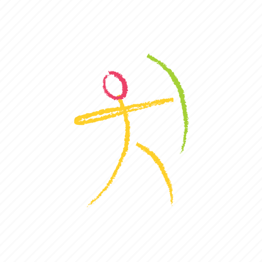 archery, game, play, sport, target icon